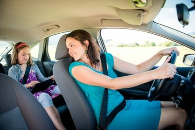 Distracted driving is a mascara brush away